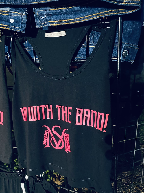 I'm with the Band Razor Back (pink)