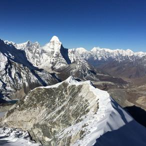 Trekking Peak My Arse!
