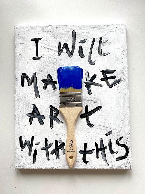 ART BRUSH BLUE#04