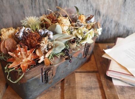 【オリジナル新商品】 driedflowers-trunk-