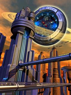 3D Digital Illustration