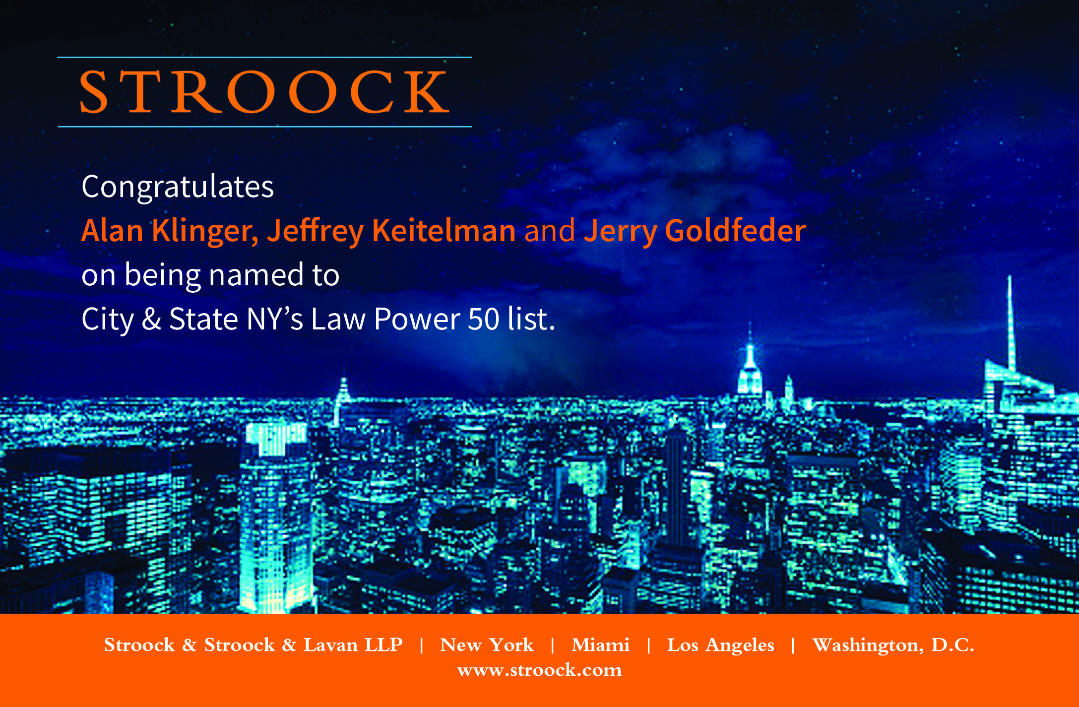 NY Power List Ad