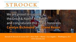 2019 Groat and Alpern Awards Dinner Ad -