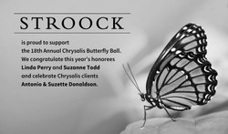 18th Annual Chrysalis Butterfly - CROPPE
