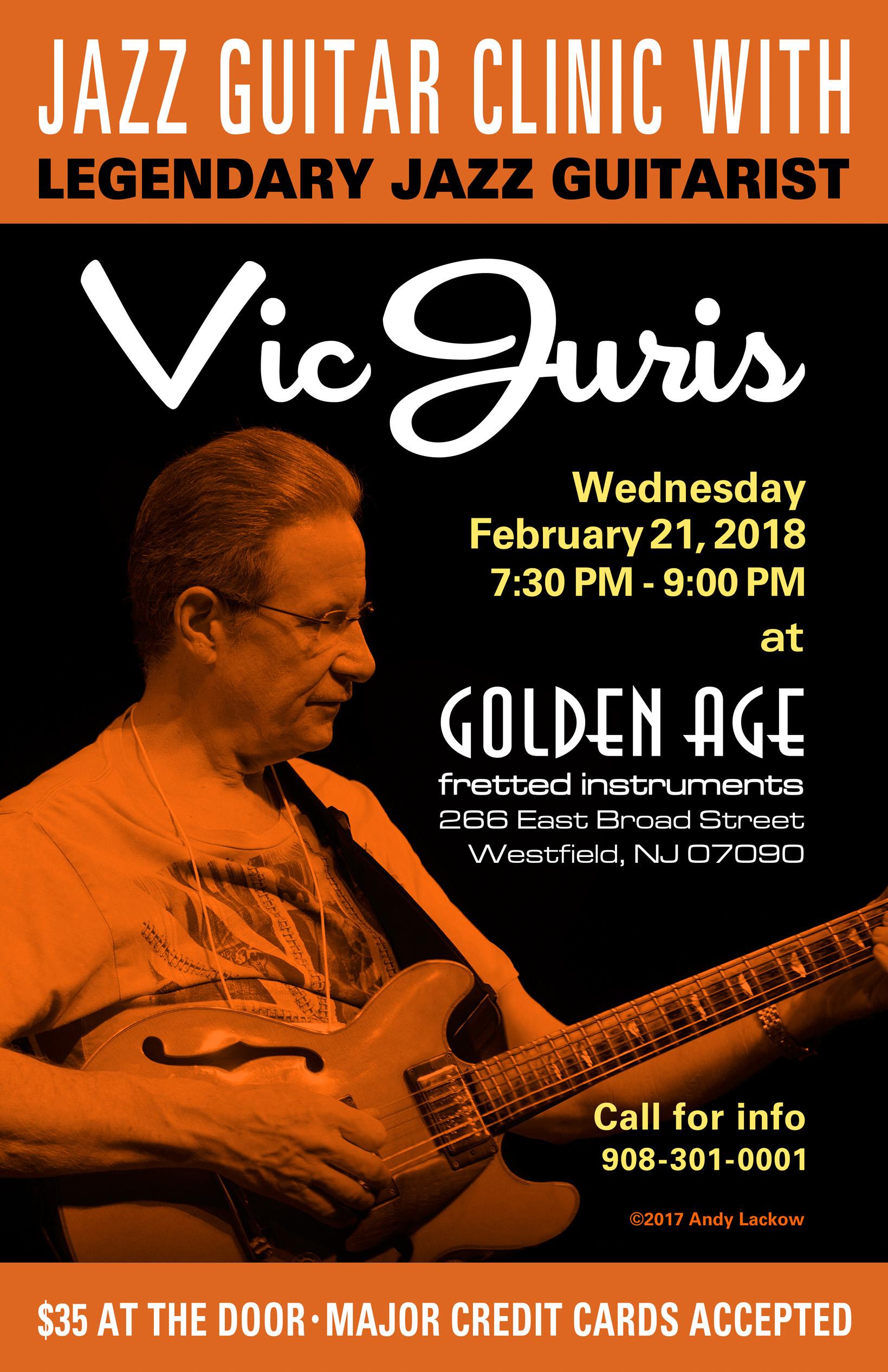 Vic Juris Jazz Guitar Clinic