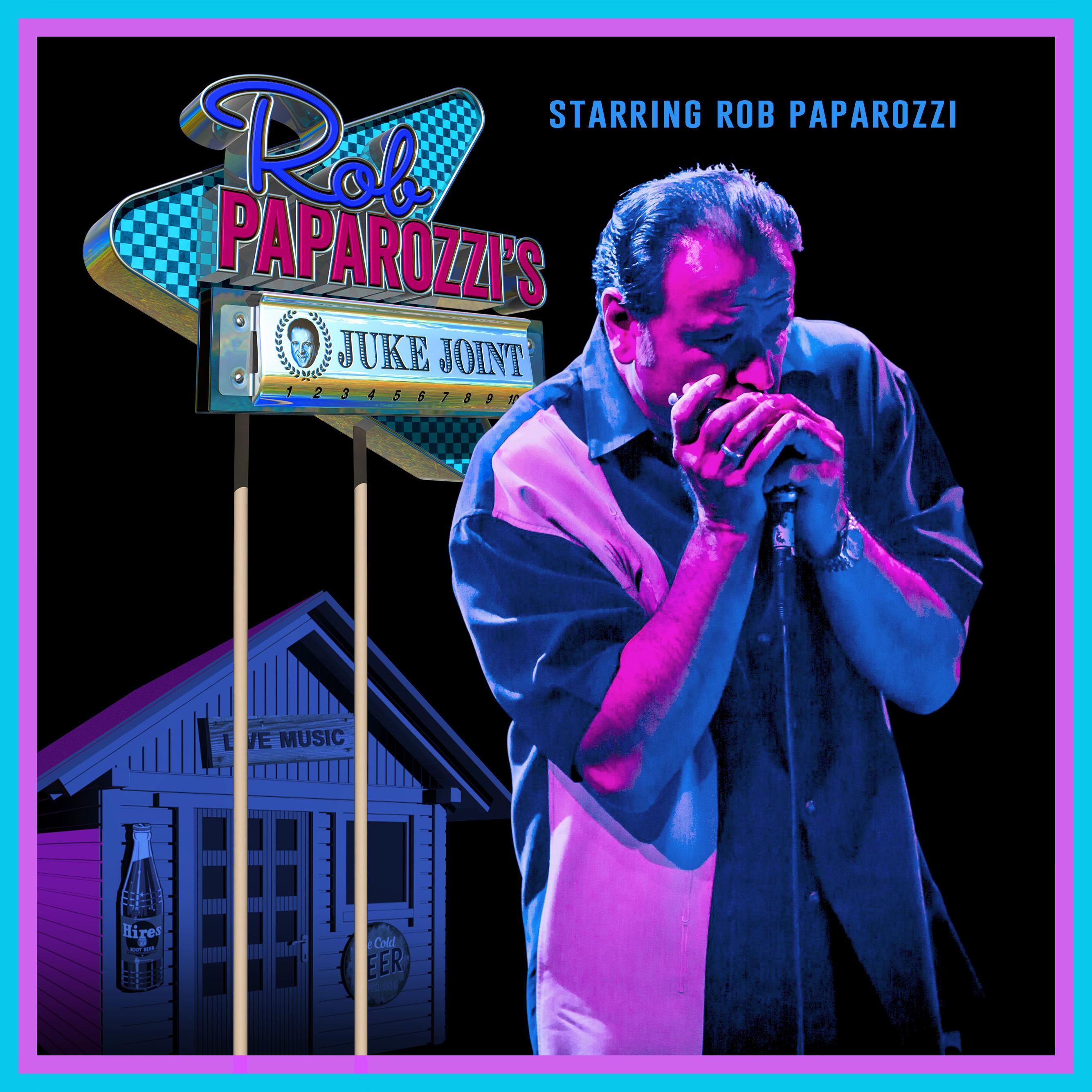 Rob Paparozzi's Juke Joint Poster