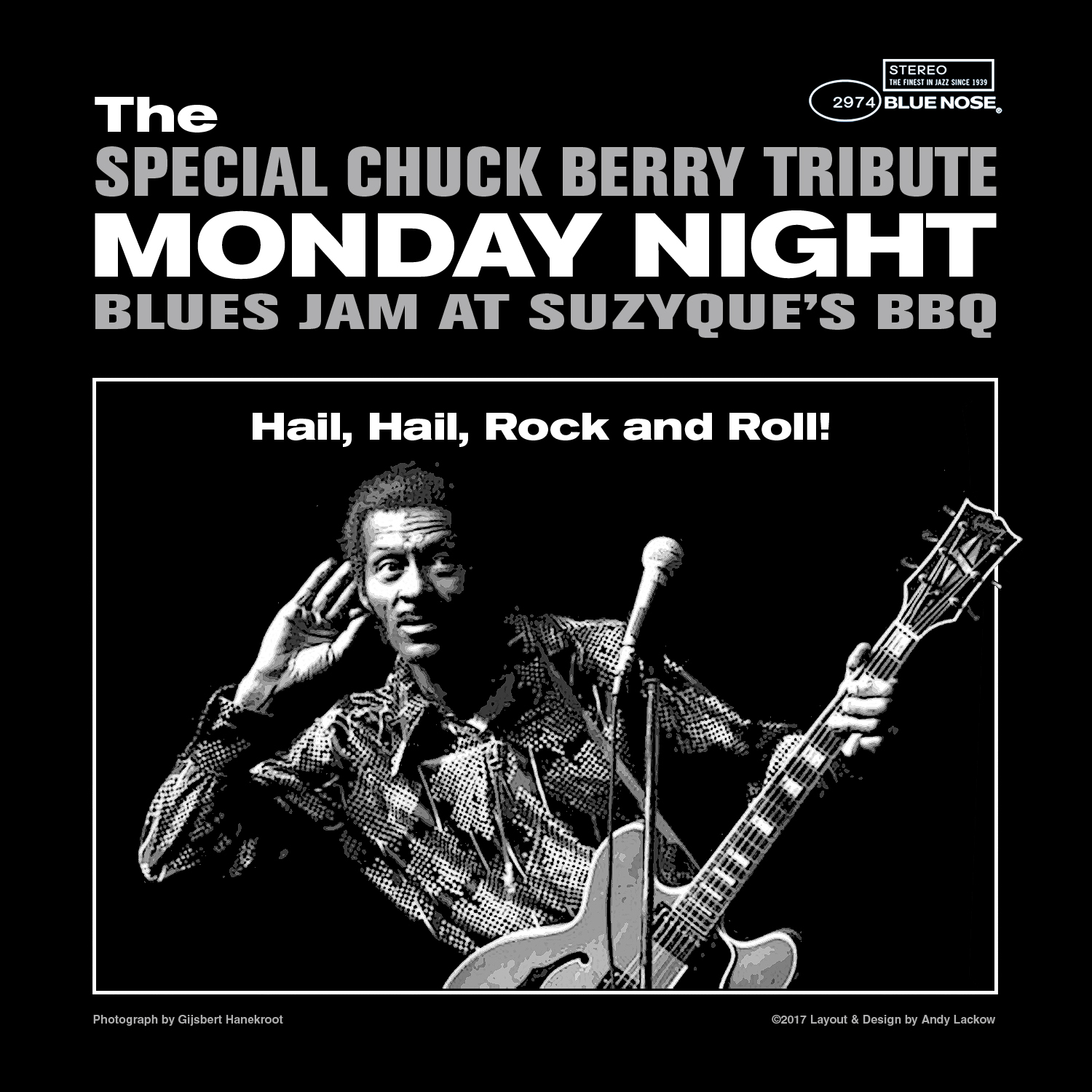 Chuck Berry Tribute Jam Poster