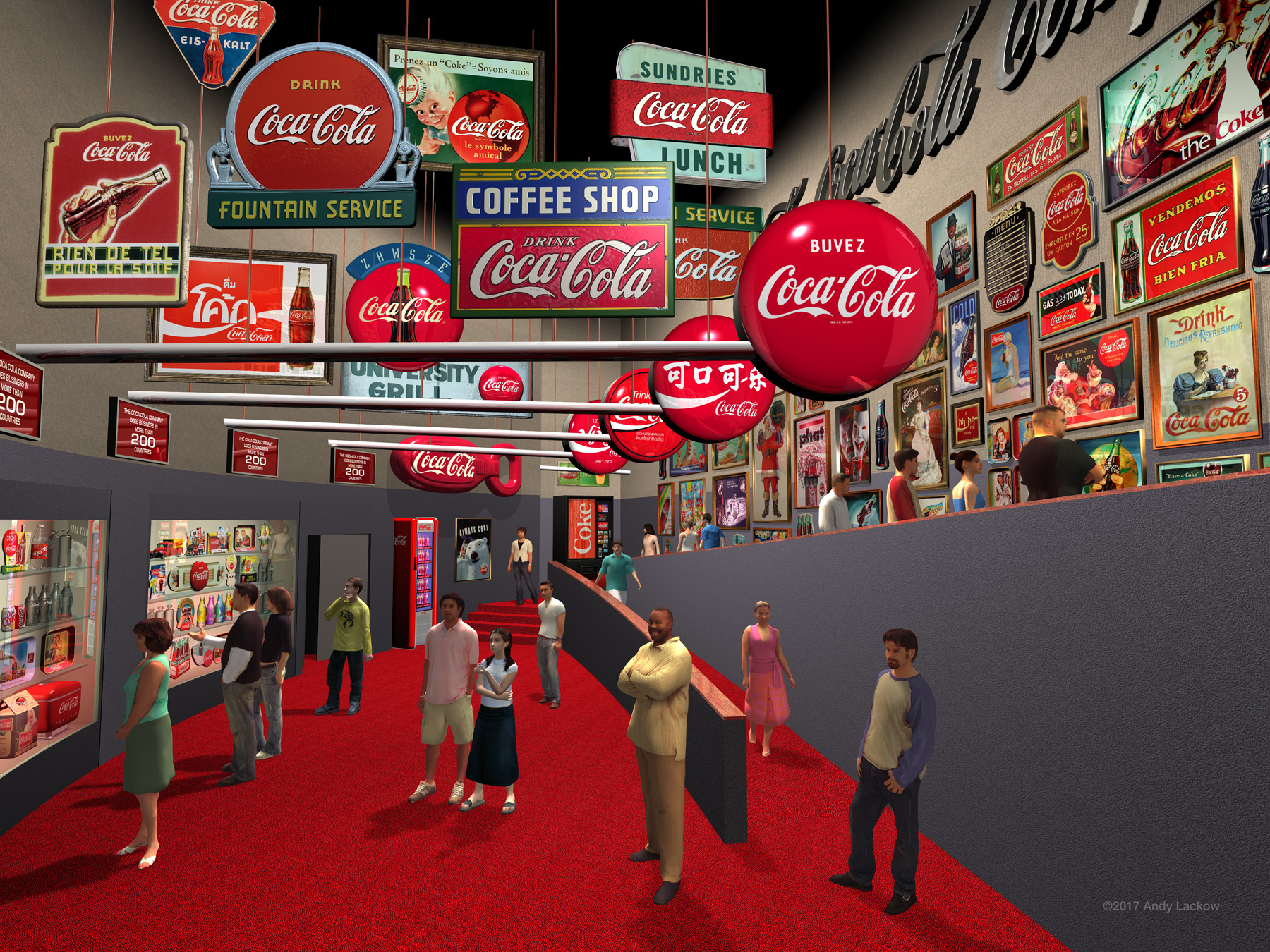 Pre-Visualization Coca-Cola World