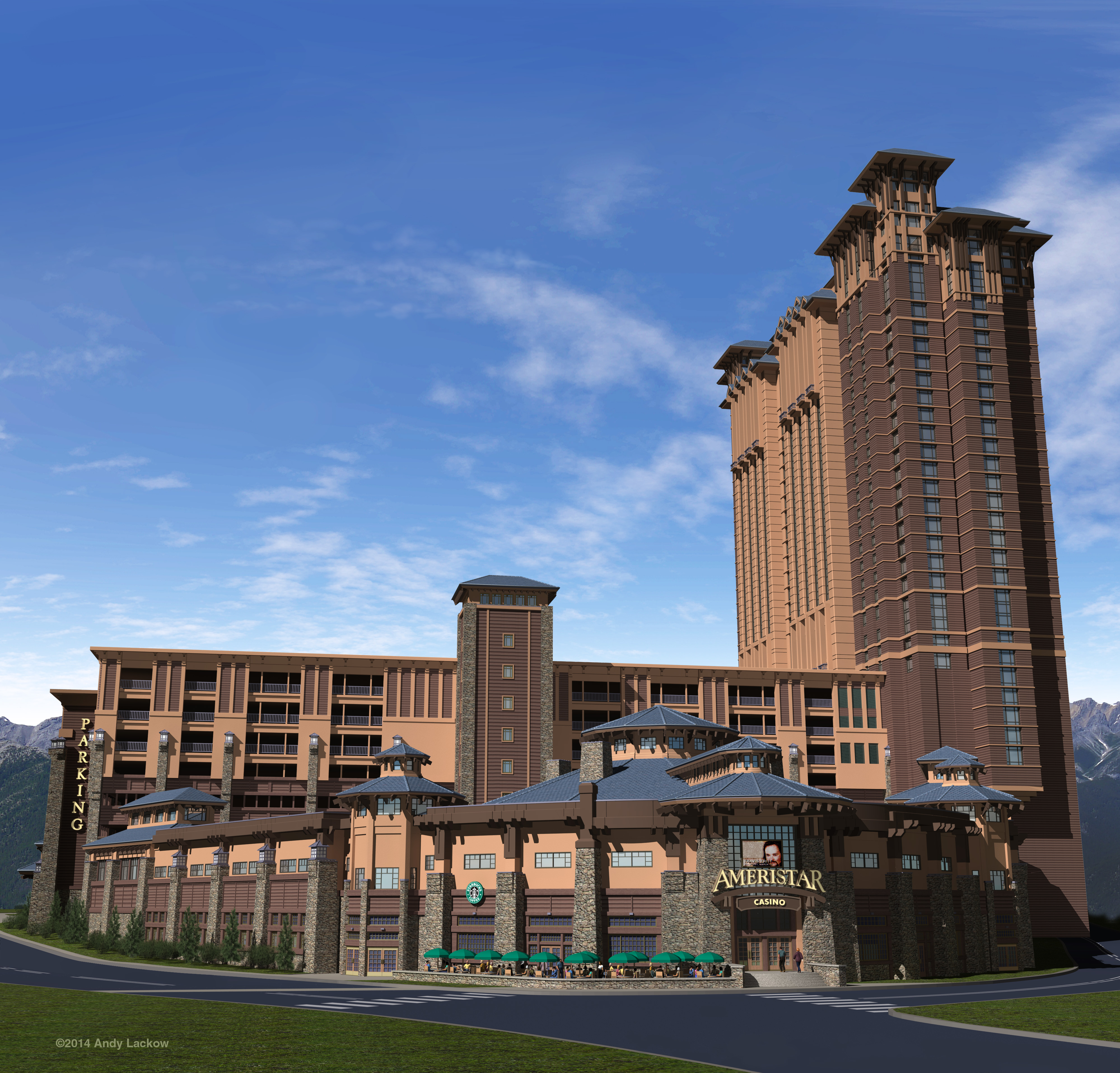 Pre-Visualization for Casino Hotel