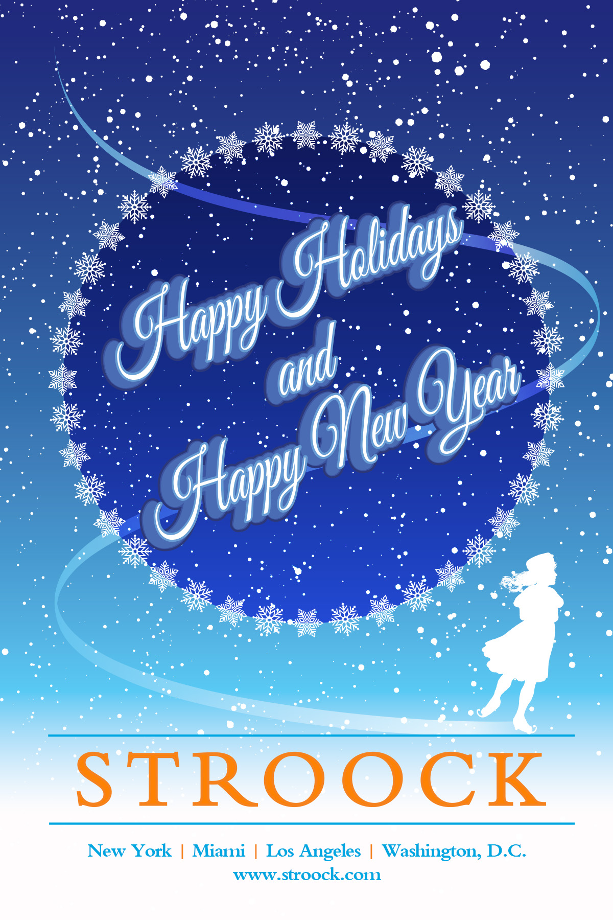 Stroock Holiday Card