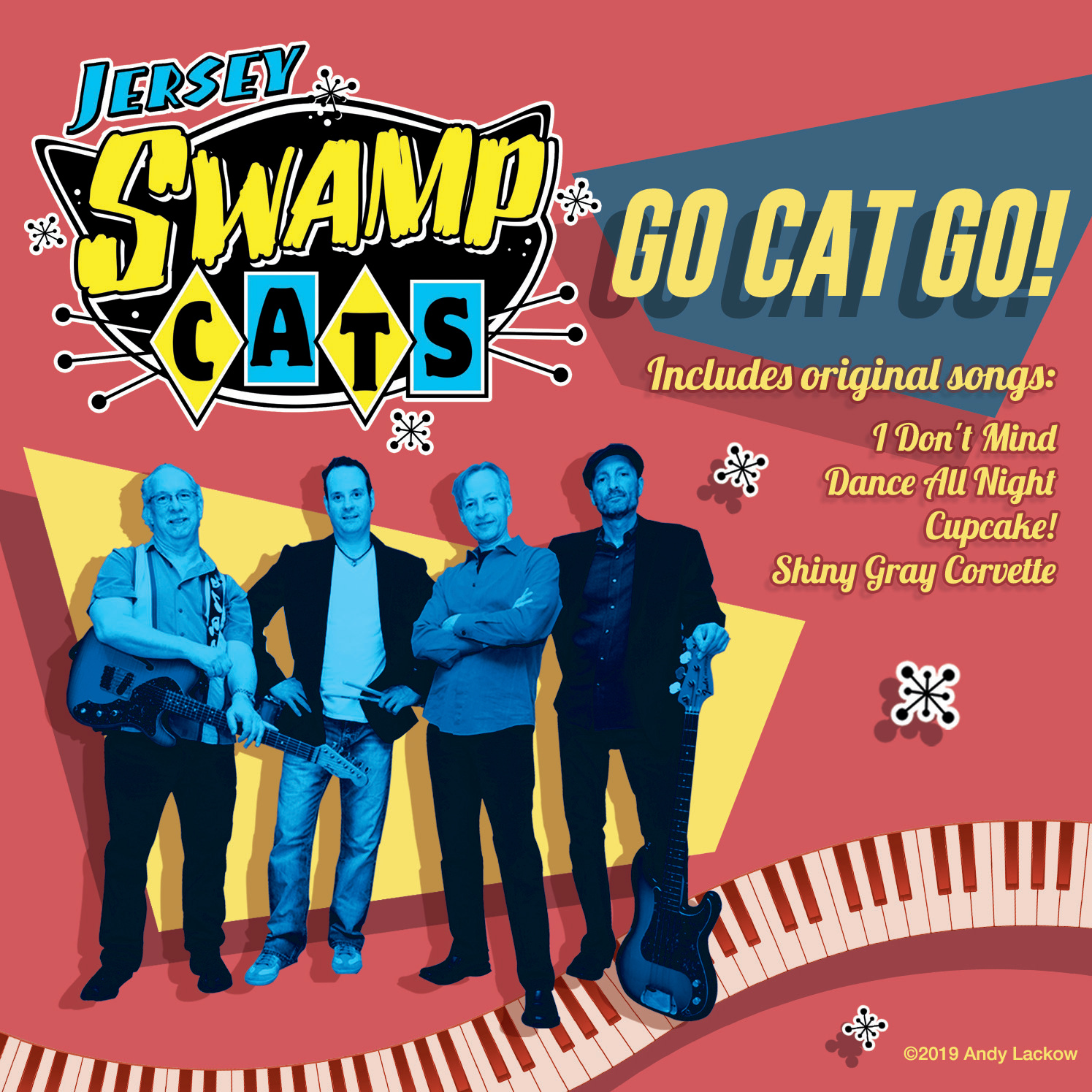 Go Cat Go CD Front Cover