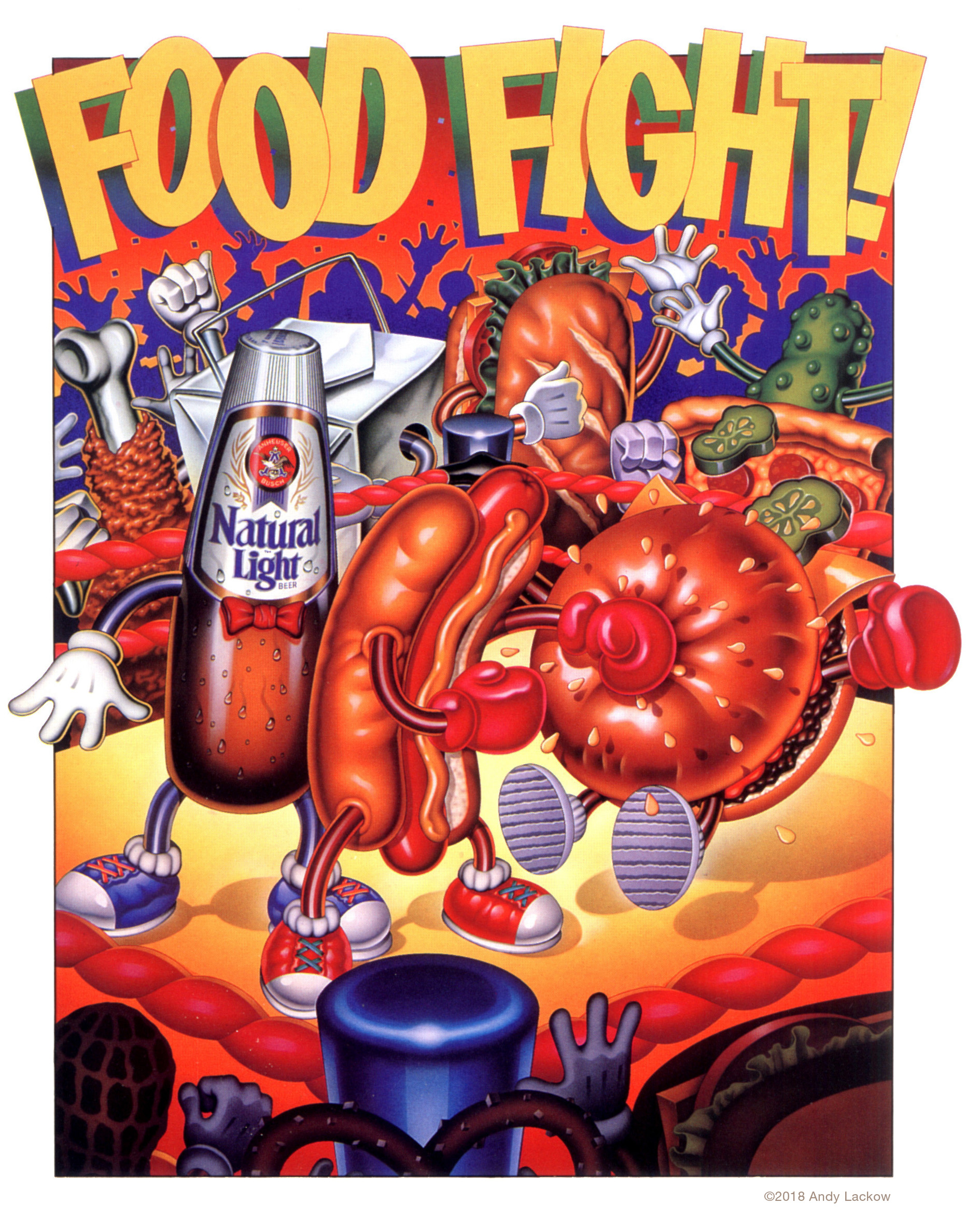Food Fight - Anheuser Busch