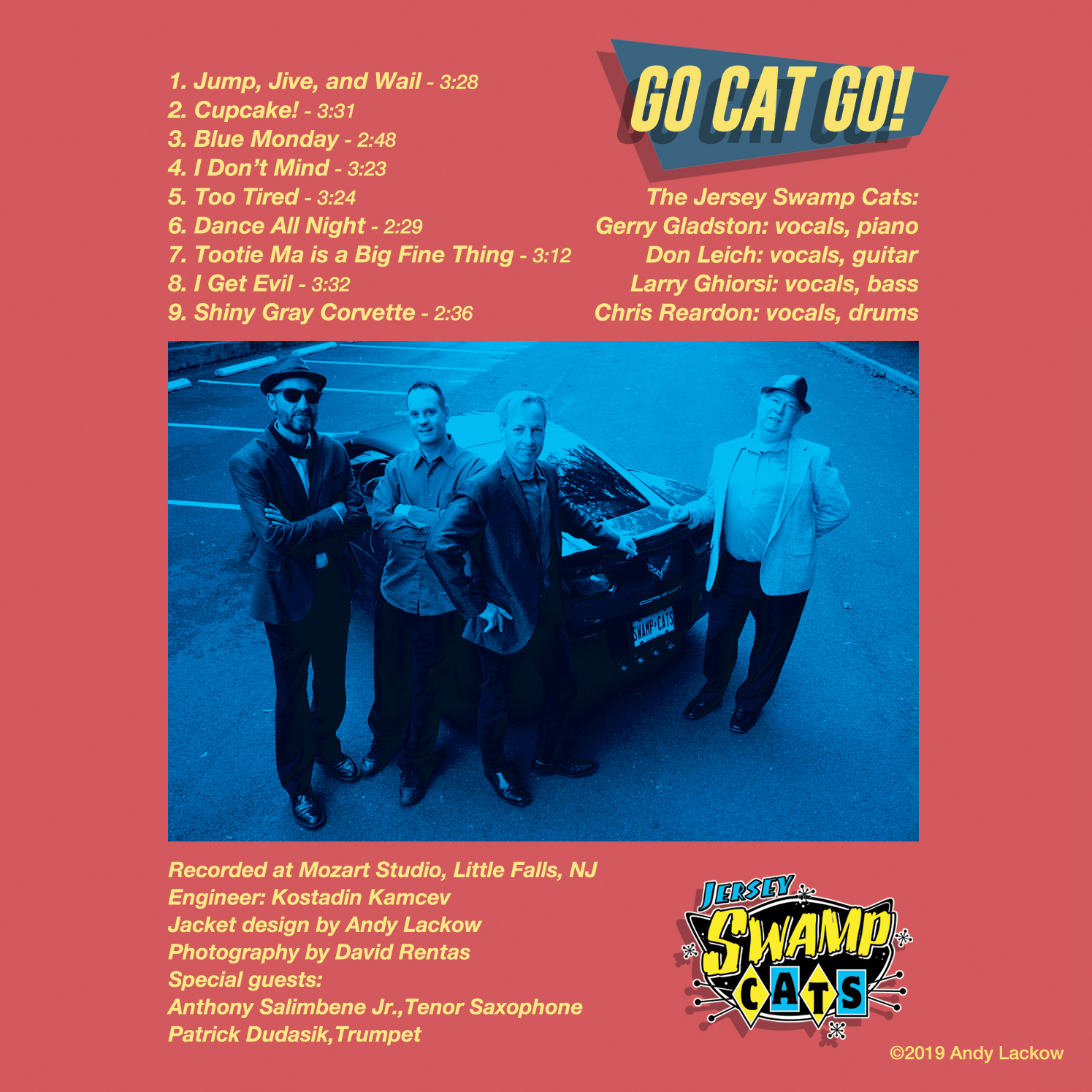 Go Cat Go CD Back Cover