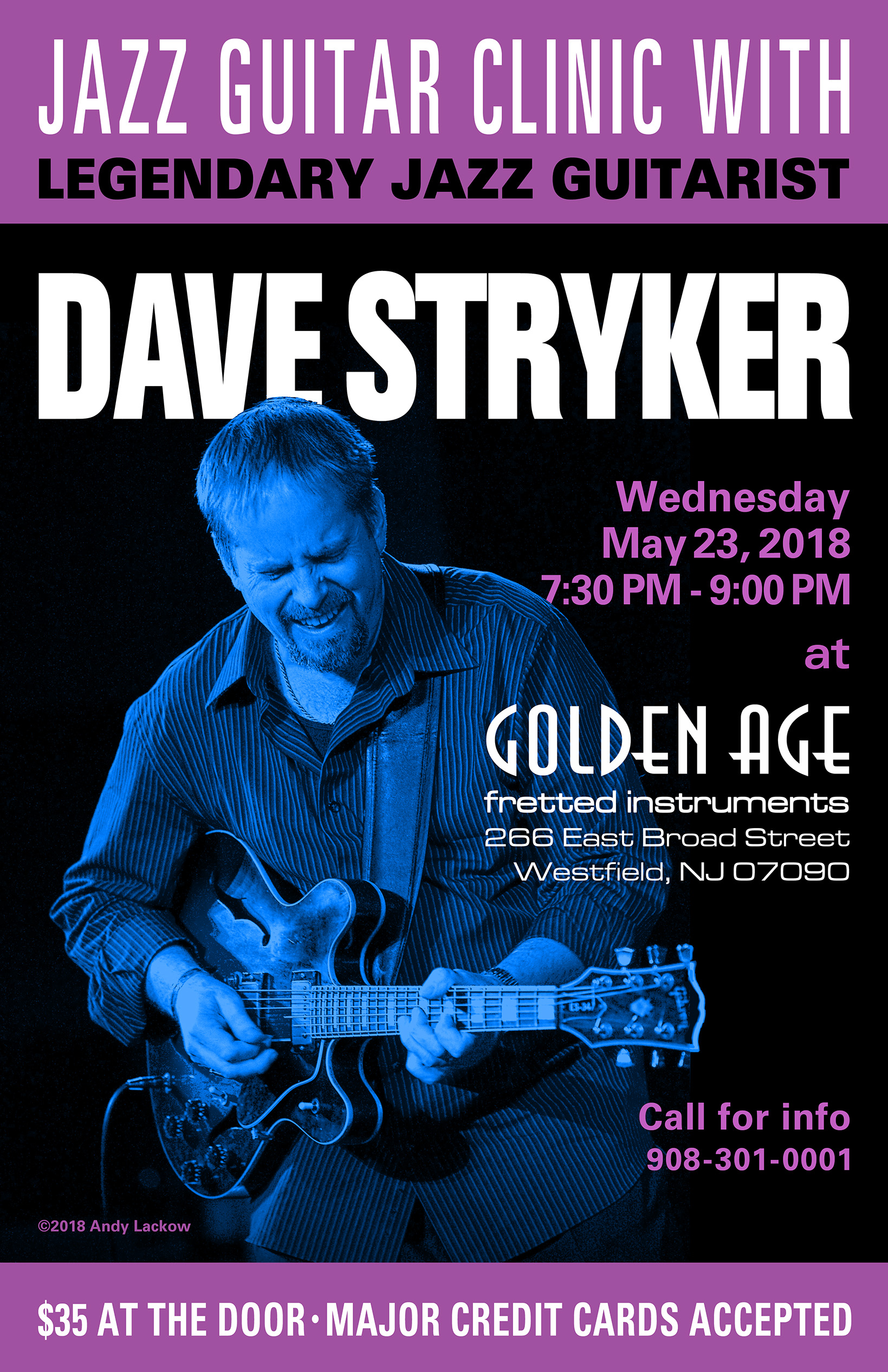 Dave Stryker Jazz Guitar Clinic