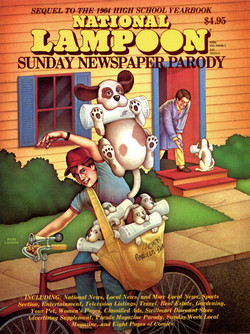National Lampoon Special Issue Cover