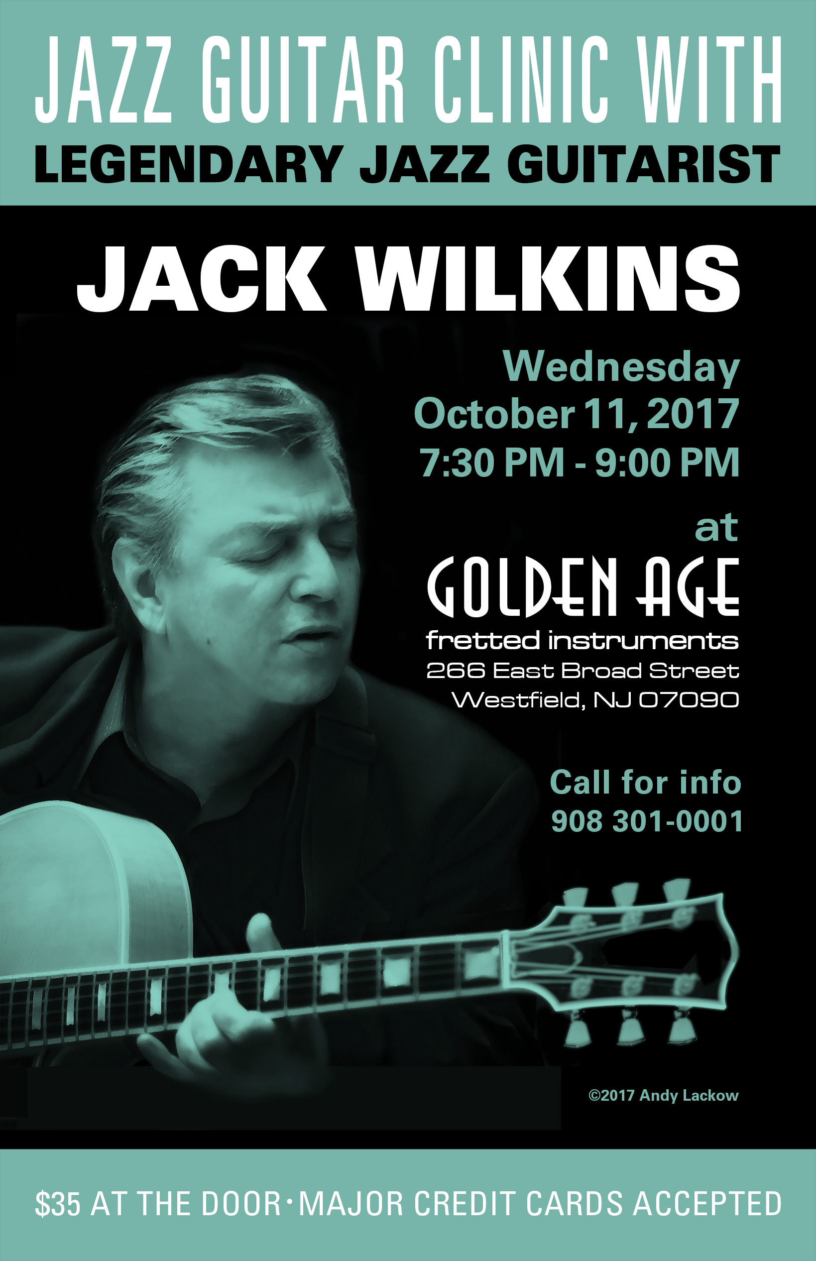 Jack Wilkins Jazz Guitar Clinic