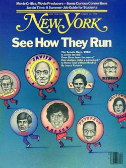 New York Magazine Cover