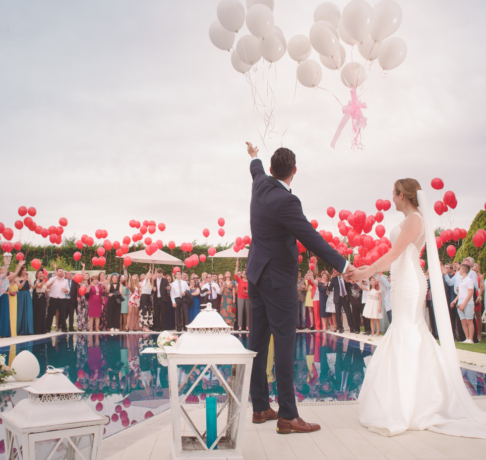 Outdoor Destination Wedding