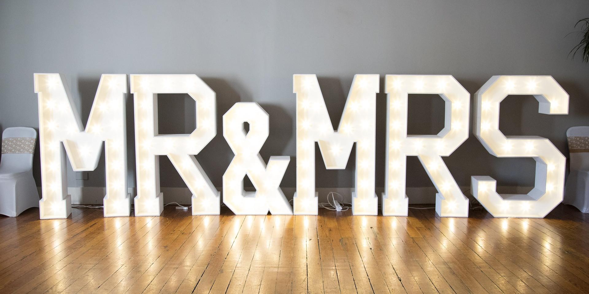 Life Size Wedding Decor