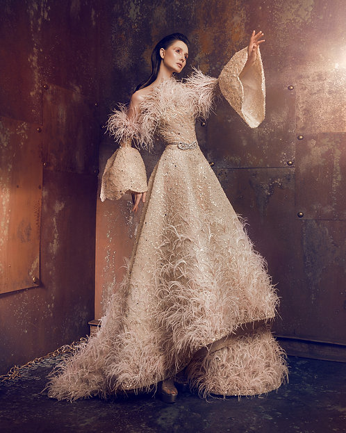 Robe couture collection Birds of Love