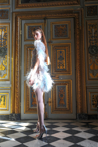 Ziad Nakad Collection Couture SS21 Birds of Love