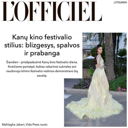 L'Officiel Lithuania