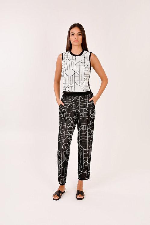 Pantalon + top en mailles collection Play