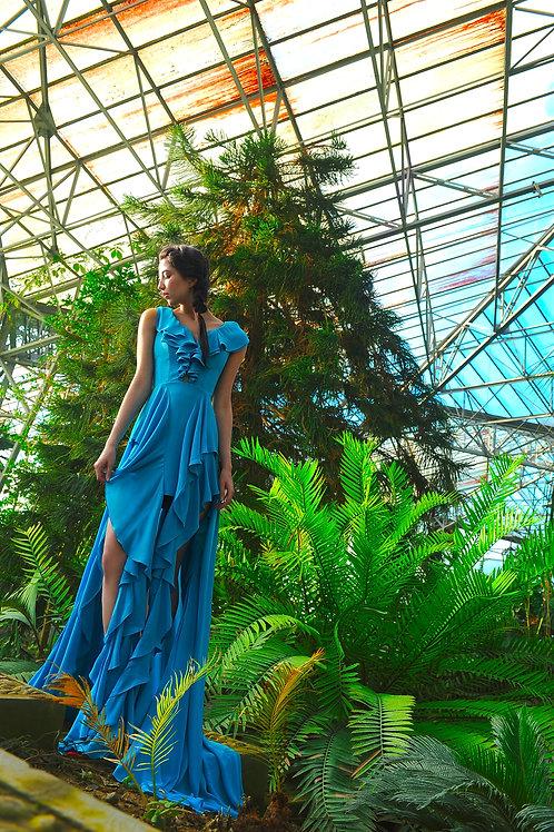 Robe couture collection Fleurs de Ville