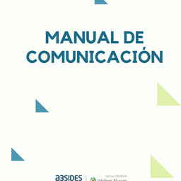 Manual de comunicación a3SIDES