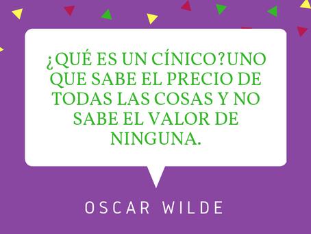 Meditación del día de Oscar Wilde