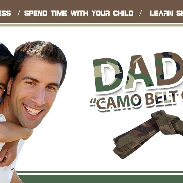 Father's Day Camo Belt Class