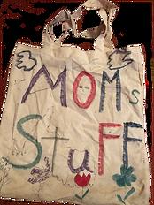 """Tote bag """"Moms Stuff"""""""