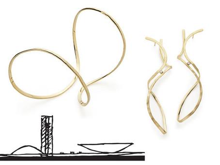 A arte e leveza das joias de Oscar Niemeyer