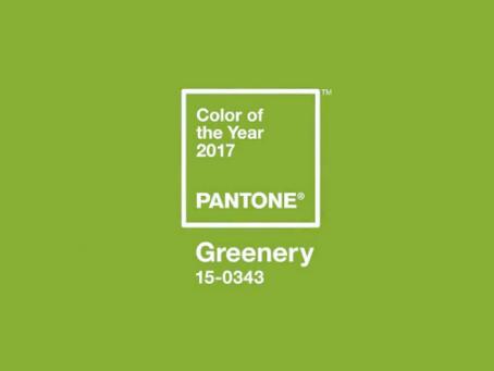 Instituto Pantone escolhe Greenery como a cor de 2017