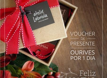 Voucher de Natal - uma joia de presente!