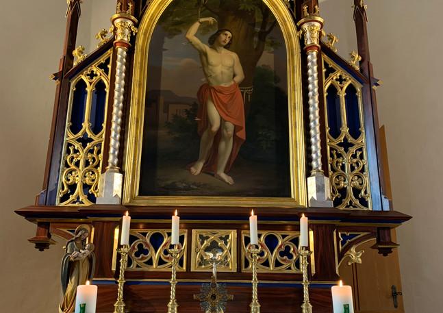 Kapelle Tegerfelden Altar