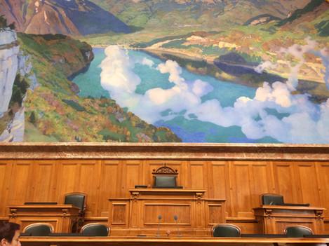 «Wiege der Eidgenossenschaft» Nationalratssaal