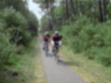 pistes cyclables landes vélo forêt landaise