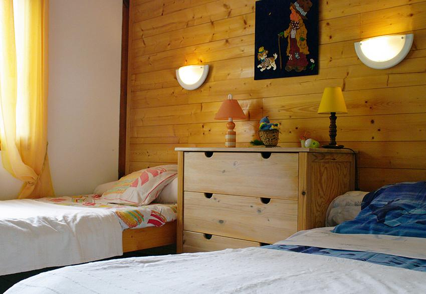 Chambre 2 lits 90 (RDC)
