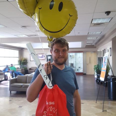 Smile Bag to Tita at Hospital in Chino, California