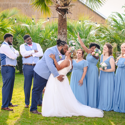 The Supportive Bridal Party
