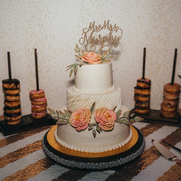 Donuts with cake are a MUST