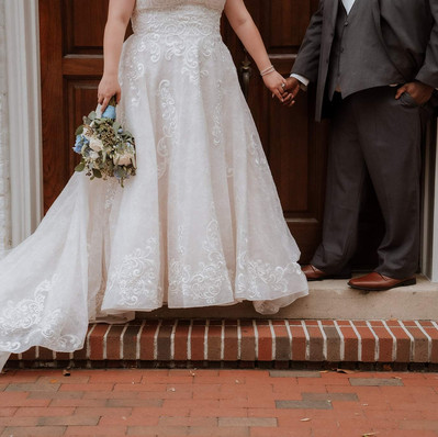 Gorgeous shot in front of Old Christ Church