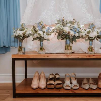 The Dress & Flowers