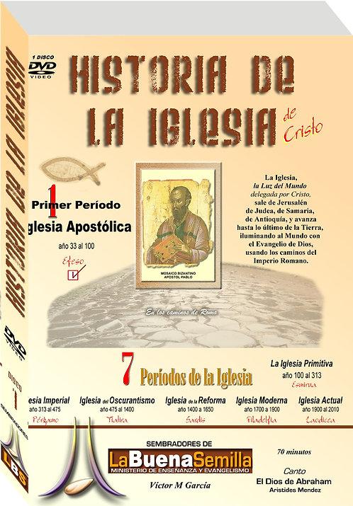 DVD La iglesia apostólica