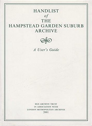 Handlist of the Hampstead Garden Suburb Archive