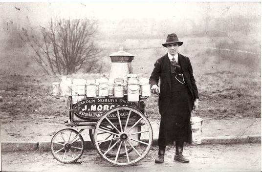 The Suburb Milkman 1912