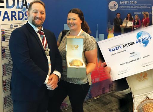 Safety Media Awards 2018 Winners!