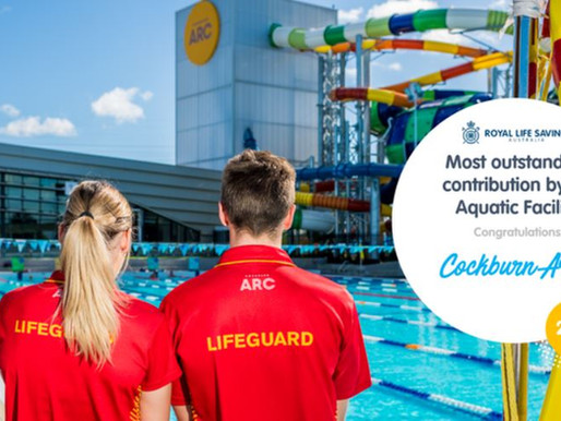 The Most Outstanding contribution by an Aquatic Facility and the Winner is...