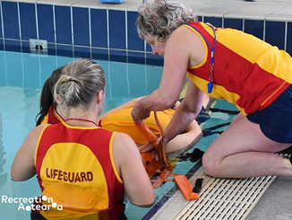 First All-Female Lifeguard Team Competes in Recreation Aotearoa Pool Lifeguard Competition